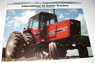 IH International 30 Series Tractors Sales Brochure 3088 3288 3488