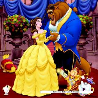 picture 2 of Jumbo 4 pieces jigsaw puzzle Disney   Beauty and the