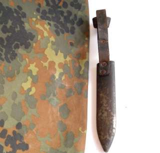 WWII ORIGINAL GERMAN YOUTH SCOUT KNIFE METAL SCABBARD