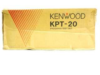 KENWOOD KPT 20 2 WAY HAM RADIO PROGRAMMER TEST SET KIT