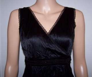 NWT$229 SIGRID OLSEN BLACK SILK COCKTAIL DRESS SZ 8
