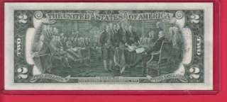 1976 $2 DOLLAR BILL FIRST DAY ISSUE AND POST MARKED APRIL 13 1976