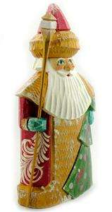 Santa Father Frost Hand PAINTED AUTHENTIC Russian 7