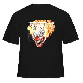 Twisted Metal Sweet Tooth Video Game T Shirt