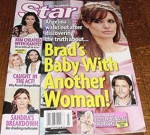 Angelina Jolie Brad Pitt Kim Kardashian Katy Perry Sandra Bullock