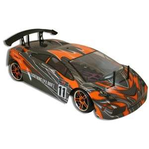 EPX 1/10 Scale Electric Brushed Redcat Racing Drift Car Orange & Black