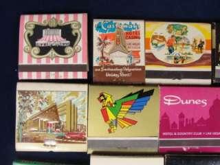 Vintage Lot 17 Las Vegas Casino Matchbooks Sands Desert Inn