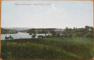 1910 PC: Lake Winnisquam  East Tilton, New Hampshire NH