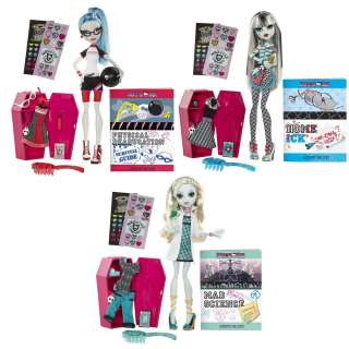 Monster High Classroom Dolls 3 Doll Set Lagoona Ghoulia