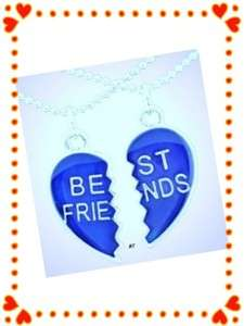 NewSet Best Friends Hearts Mood Necklaces Reveals moods