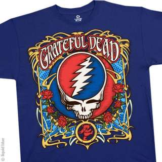 New GRATEFUL DEAD Steal Your Roses T Shirt