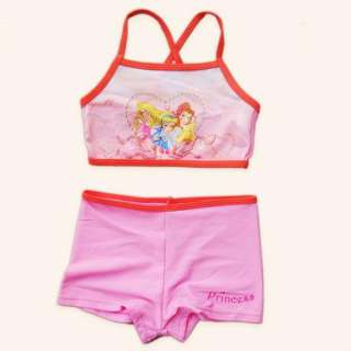 Girl Baby Disney Princess Bikini Swimsuit Age 2 8 years