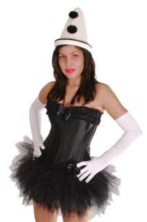 Pierrot Clown Harlekin Kostüm Karneval Party