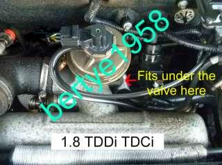 EGR valve blanking plate Ford Transit Connect, Focus, Mondeo 1.8 TDDI