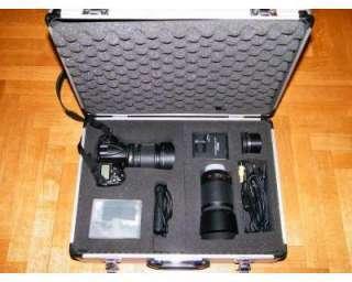 Valigia valigetta alluminio per reflex Nikon e Canon
