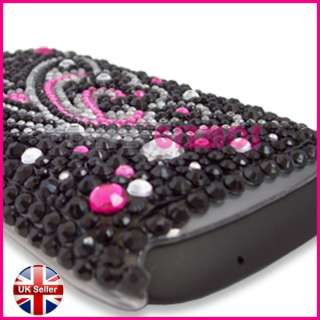 BLING DIAMOND GLITTER GEM CASE COVER FOR HTC DESIRE S