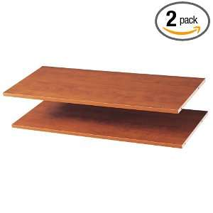 Easy Track RS1436 C 35 Inch Shelves, Cherry, 2 Pack