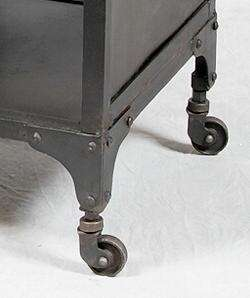 Vintage Industrial Style Metal Sideboard/Console Table