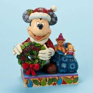 DISNEY TRADITION MICKEY MOUSE MERRY CHRISTMAS JIM SHORE