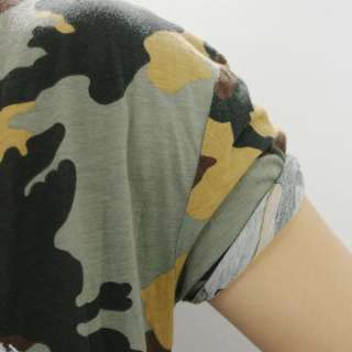 shirt HAPPINESS ROCK Tg. L MILITARE