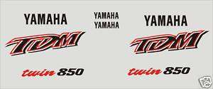 Kit Adesivi per Yamaha TDM twin 850 decals stickers
