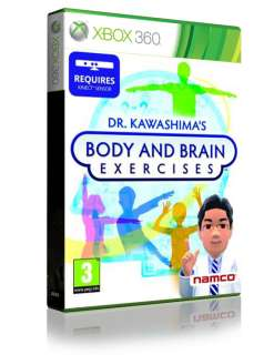 DR KAWASHIMAS BRAIN AND BODY EXERCISES XBOX 360 GAME NEW SEALED