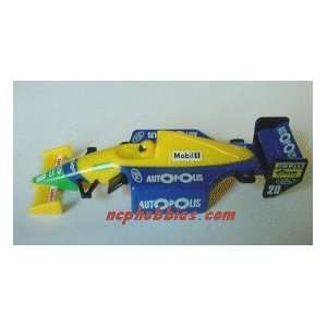Tomy   F1 Body Autopols Mobil (yl/bl) (Slot Cars): Toys