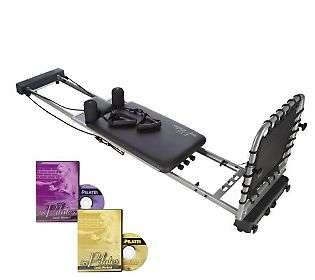 AeroPilates Performer with Cardio Rebounder & 2 DVDs   QVC