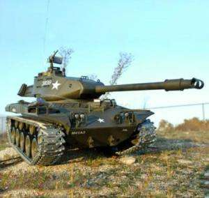 Carro Armato U.S. M41A3 BULLDOG RC 116 upgrade metal