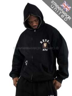 APE CLASSIC BAGGY TRACKSUITS HOODIE BATHING ALL SIZE HIP HOP