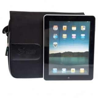Black Messenger Travel Shoulder Bag for the New Apple iPad 3