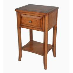 Privilege Country Wood Nightstand  Wayfair