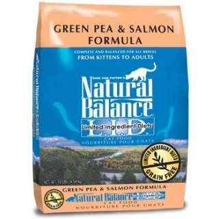 Ingredient Diets Green Pea & Salmon Formula Dry Cat Food at PETCO