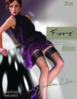 Fiore Milena Sheer Lace Top Hold ups 20 Denier