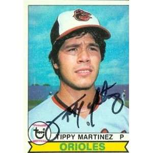 Tippy Martinez autographed Baseball Card (Baltimore Orioles) 1979
