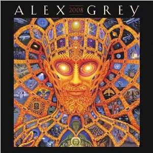 Alex Grey 2008 Wall Calendar: Office Products
