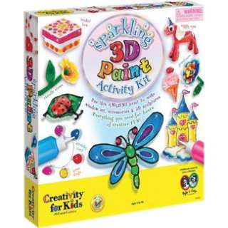 Castell 1941 Sparkling 3 D Paint Activity Kit in Painting  JR