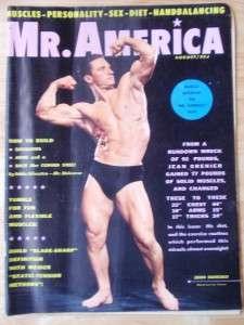 MR AMERICA bodybuilding muscle fitness magazine/JOHN BIANCULLI 8 60