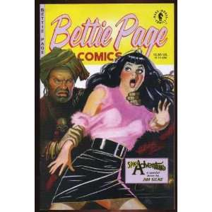 Bettie Page comics Spicy adventure Jim Silke  Books