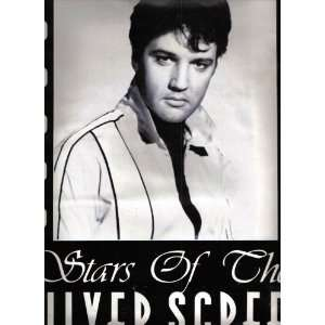 Elvis Presley Stars of the Silver Screen Poster