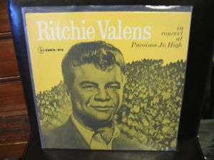 Ritchie Valens in Concert at Pacoima Jr. High LP SEALED re issue from