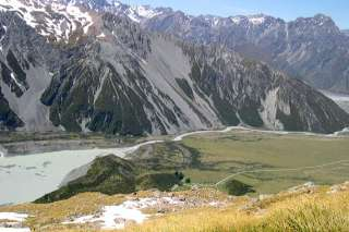 The Mueller Track rewards hikers with incredible views of Mount Cook