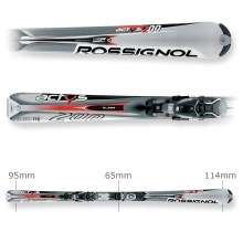 Rossignol Actys 200 TDI Skis / Axium 200 Bindings   2005