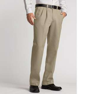 Eddie Bauer Men Pants Casual Classic Fit Wrinkle Free Casual Chino