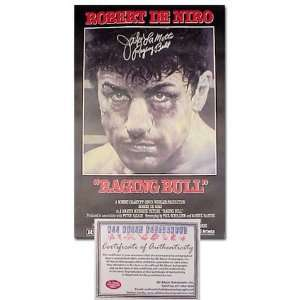 Jake LaMotta Autographed Full Size Raging Bull Movie