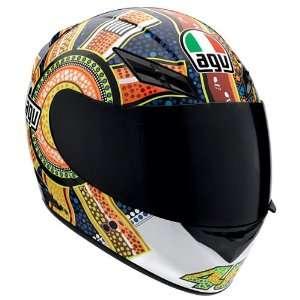 AGV K3 VALENTINO ROSSI DREAMTIME FULL FACE MOTORCYCLE HELMET MEDIUM/MD