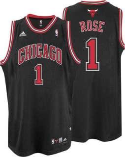 Derrick Rose Jersey adidas Black Swingman #1 Chicago Bulls Jersey