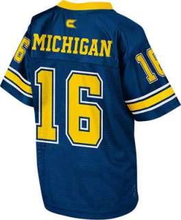 Michigan Wolverines Toddler Navy Stadium Football Jersey
