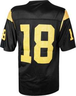 USC Trojans Football Jersey Nike #18 Black Replica Football Jersey