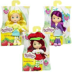 Strawberry Shortcake Set of 8 Mini Soft Dolls   Wave 2
